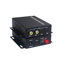 yayın vericisi toptan satış-2 Ses Over FC Fiber optik Genişletici (tek yönlü) Verici ve Alıcı, Sesli interkom yayın sistemi (Tx / Rx) Kiti