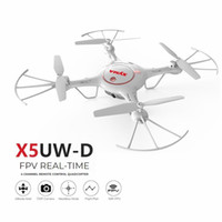 Wholesale syma x5uw for sale - Original Syma X5UW D Wifi FPV Adjustable P HD Camera RTF Optical Flow Positioning Altitude Hold Quadcopter Remote Control Toy