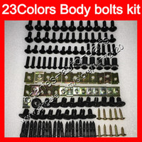 Wholesale 98 yamaha r6 for sale - Group buy Fairing bolts full screw kit For YAMAHA YZFR6 YZF R6 YZF R6 Body Nuts screws nut bolt kit Colors