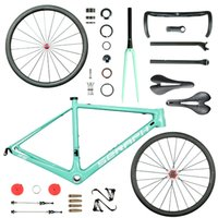 Wholesale super light bike frame - bike carbon frame new design T1000 super light carbon frame R6 . high quality wheelset . complete bicycle and carbon wheelset