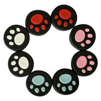 Wholesale silicone thumbstick grip cover caps for sale - Group buy Cat Claw Paw Silicone Analog Joysticks Button Thumbstick Cap Grip Cover For PS Vita PSV DHL FEDEX EMS