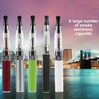 Wholesale E Health Cigarettes - electronic cigarette kit starter atomizer vape e cig kit 650mah 900mah 1100mah battery blister case Clearomizer safe and health HotSale