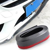 kohlefaser-auto stoßfänger großhandel-Kohlefaser Car Front Lip Side Rock Karosserieverkleidung Frontstoßstange für Volkswagen Golf GTI GTE Scirocco R32 R20 Passat Jetta POLO CC