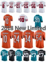Wholesale foster jerseys - 2018 New Limited Jerseys Trubisky Howard Payton Urlacher Garoppolo Richard Young Sanders Montana Foster Rice Bortles Ramsey Fournette jersey