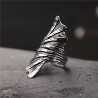 Wholesale China Old - designer jewelry fashion charms 925 sterling silver rings Handmade Do old exaggerated ring men and women vintage wholesale china direct
