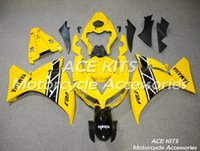 Wholesale ACE Motorcycle Fairings For YAMAHA YZF R1 Compression or Injection Bodywork astonishing yellow No