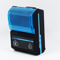 Wholesale 10pcs Mini mm Bluetooth Thermal Printer Mobie APP QR Code Receipt Printer Android Windows