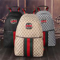 Wholesale korean backpacks school bags canvas - Wholesale Punk style Rivet Backpack Fashion Men Women Cheap Knapsack Korean Stylish Shoulder Bag Brand Designer Bag High-end PU School Bag