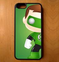 telefone pop verde venda por atacado-Funko pop lanterna verde phone case para iphone 5c 5s 6 s 6 mais 6 splus 7 7 plus samsung galaxy s5 s6 s6ep s7 s7ep