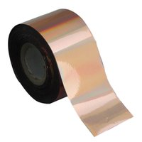 Wholesale Full Nail Foils - 120m*4cm Holographic Gold Nail Transfer Foil Roll Laser Nail Art Tips Women DIY Manicure Decoration Full Wrap Polish Care WY246