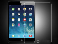 Wholesale Ipad2 Mini - 9H Premium Tempered Glass Screen Protector Film For New iPad 2017 2 3 4 5 6 Air Air2 Mini MINI4 Pro 9.7 10.5 NO Retail Package