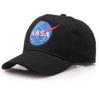 ingrosso polpette-Moda rara I NEED MY SPACE NASA Meat Ball 3 dio Cotone ricamato papà cappello snapback Berretto da baseball mi sento come pablo casquette