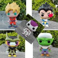 стрекоза зонт оптовых-Funko pop официальный Dragon Ball Z Воскресение F-супер Saiyan Бог Вегета винил фигурку коллекционная модель игрушка кукла модель