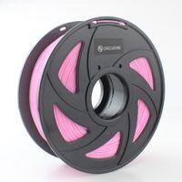 3d druckermaterialien großhandel-Freeshipping Pink PLA 3D Drucker Filament PLA Filament 1.75mm 1kg Abmessungsgenauigkeit +/- 0.03mm 3D Druckmaterialien