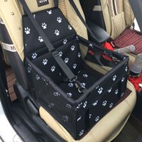 Wholesale dog car blankets resale online - Reinforced design Pet Carrier Car Seat Pad Safe Carry House Cat Puppy Bag Waterproof Car Travel Accessories Blanket Waterproof Dog Basket B