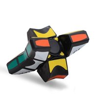 Wholesale fidget spinner for sale - Cube Spinner Fidget Cubes Spinning Magic Cube EDC Anti stress Rotation Spinners Fidget Spinners Decompression Novelty Toys