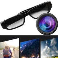 Wholesale eyewear mini camera online - Mini P HD Camera Glasses Eyewear DVR Video Recorder Cam Camcorder