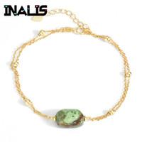 "Femmes 24K or jaune rempli bracelet chaîne 8.6/"" Lien CZ GF Charme Fashion Jewelry"