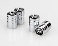 Wholesale logo alfa romeo - Alfa Romeo Logo Car styling Wheel Tire valve caps Stainless steel Lengthed Type air Dust Cover [177 logos available]
