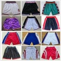 Wholesale usa pants - 2018 New Season Running Basketball Shorts Kevin Durant Tracy McGrady Pants Vince Carter Sweatpants 1992 USA Dream Team Tune Squad Shorts Men