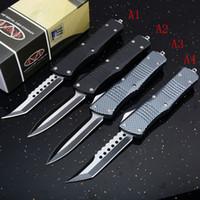 ingrosso coltello fisso migliore della tasca-Emzon Microtech Hellhound Spear Point Combat Troodon Double Action automatico migliori coltelli per coltelli
