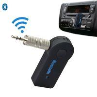 usb drahtloser videoadapter großhandel-DHL Freeship drahtloser Bluetooth-Empfänger-Sprecher-Kopfhörer-Adapter 3.5MM Audio-Stereo-Musik-Empfänger WholesaleHome Freisprecheinrichtung