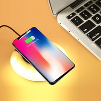 wholesale christmas light charger for sale wireless charger smart night lights wireless charging with w