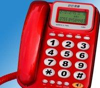 affichage de l'appelant achat en gros de-Affichage sans identifiant de l'appelant sans pile de téléphone fixe téléphone à grande clé Life Life Appliances