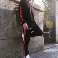 Wholesale Hip Ad - 17SS Gosha Rubchinskiy X AD Sweatshirts Letter Printed Men Women Couple Black Fashion Hip Hop Good Quality HFLSWY010