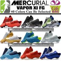 Wholesale cheap low heel boots - Cheap Sale Men Low Soccer Cleats Mercurial Vapor XI FG Soccer Shoes Mercurial Superfly Vapor CR7 Neymar BHM Football Boots Cristiano Ronaldo