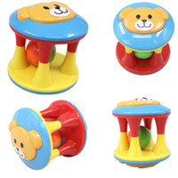 Wholesale cloth toy set resale online - Learning Set Lovely Funny Baby Rattles Plastic Music Novelty Hand Shake Bell Ring Early Learning Educational Toys Rattles Toys Baby