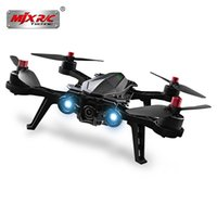 ters camlar toptan satış-MJX Bugs 6 250mm RC Fırçasız Kamera Drone RTF 4CH Verici Ters Uçuş C5830 Kamera 5.8G FPV Monitör ve Gözlük