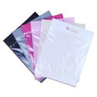 Wholesale compression clothing storage for sale - Group buy 50pcs cm Non woven zipper bag Gift handbag Travel storage bag clothing bags