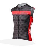 tops de merida al por mayor-Equipo de MERIDA Ciclismo sin mangas jersey chaleco de calidad superior ropa deportiva al aire libre envío gratis U52924