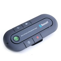 Wholesale car speakers for sale - 2017 PRICE REASONABLE HIGH QUALITY Hot Sale Universal Wireless Handsfree Car Bluetooth Kit Speaker Speakerphone Clip for iPhone