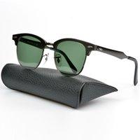 Wholesale Titanium Glasses Frames For Men - 3517 Classic Club designer Sunglasses mens excellent brand metal Glasses for Womens Men with Original Case