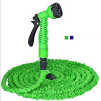 Wholesale drip hoses online - Hot x Expandable Magic Garden Hose FT Water Pipe Drip Irrigation Supplies Water Hose Car Watering Connector with Modes Spray Gun