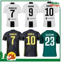 Wholesale italy soccer jerseys - 18 19 RONALDO Soccer Jersey Gianluigi Buffon Black Goalie Dybala Italy MAGLIA HIGUAIN Italia 2018 2019 Football Shirts