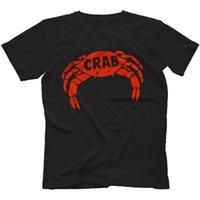 nouveaux chevaux de troie achat en gros de-Été 2018 New T-shirt Records de crabe 100% coton Reggae Derrick Morgan Pama Trojan O-cou à manches courtes T-shirts