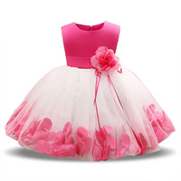 Wholesale christening gifts for girls for sale - My Baby Girl Dress Year Birthday Dress for Girl Christening Gown Baptism Infant Flower Dresses Newborn Gift Vestido Infantil