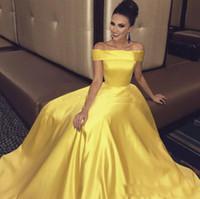 Robe mariee jaune