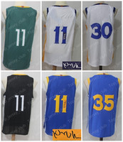 Wholesale usa signs - 2018 New GSW City Basketball The Town Jersey Men Women Youth ,Signed Retro Kids,11 KT 35 KD 30 SC,USA Team White