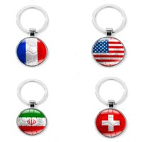 2d409566914 Wholesale football keyrings online - Russia World Cup Keychain  Customization Fan Souvenirs Keyring Pendant Football Gift
