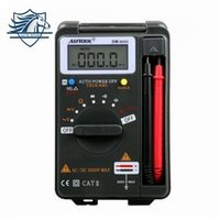 Wholesale mini ammeter - AUTOOL DM mini DMM Integrated Personal Handheld Pocket Mini Digital Multimeter Ammeter Auto Range Tester Same as VC921