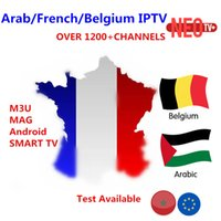 Wholesale receiver codes - Neotv pro IPTV subcription French Arabic year code 1800 IPTV channels and 2000 movies Europe belgium portugal