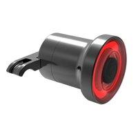 luces traseras mini bicicleta al por mayor-NUEVO Mini Luz de Freno de Bicicleta Inteligente Sensorial Cola de Bicicleta Luz Trasera USB de Carga Luz Trasera de la Bicicleta