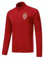 monaco UK - 2018 2019 AS Monaco training suit 9 FALCAO 10 JOVETIC 20 RONY 27 LEMAR 17 GOLOVIN J.MOUTINHO Custom 18 19 Football jackets