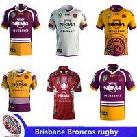 Wholesale marvel white - 2018 NRL BRISBANE BRONCOS 2018 INDIGENOUS JERSEY Brisbane Home red Rugby jersey BRISBANE BRONCOS 2017 MARVEL 'IRON MAN' JERSEY size S - 3XL