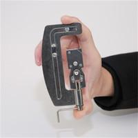 máquina de amarrar venda por atacado-Gancho rápido de Aço Inoxidável Dispositivo Semi Ganchos Automáticos Tie Manual Um Anzol Linha Tyer Laços Máquina Peixe 4 4zh dd