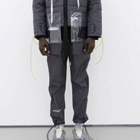 calça desportiva de mulher solta venda por atacado-2019 ACCW Calças de Moda de Luxo Rua Skate Homens Mulheres Casual Calças Soltas Esporte Calças Respirável Sweatpants HFLSKZ039